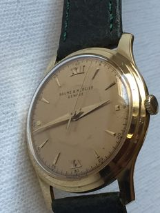 Baume&Mercier-Geneve 18K Yellow Gold-Men's-Year 1950-Very Rear
