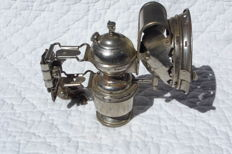 Carbide lamp by Manufacture d'Armes et de Cycles de Saint-Etienne (Loire) - early 20th century