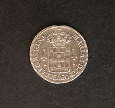 Portugal – D. Maria I – 3 Vinténs in silver – 1786 to 1799 – Lisbon