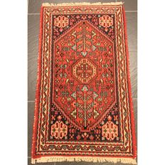 Old Persian carpet - Sanneh Bidjar - 100 x 56 cm - made in Iran