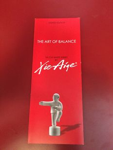 Xie Aige - Tai Chi - The Art Of Balance serie of 4 - numbers 1, 3, 7 & 8