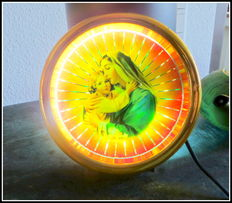 Mary and Child - rotating lamp with motor - Presto