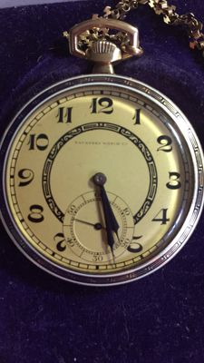 Tavannes - Pocket watch with chain - 1920