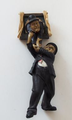 Resin Laurel & Hardy statue - Peter Mook