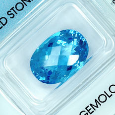 Swiss Blue Topaz – 9.00 ct