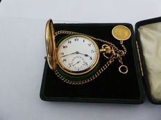 ROLEX. large swiss gents pocket watch date made 1925 A. [REF NO 220}