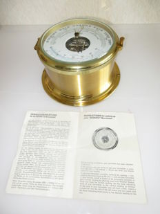 Schatz thermometer compensated precision ships barometer Royal Mariner with instruction