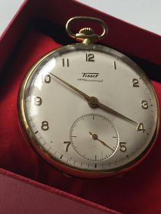 CH Tissot & Fils   Men's pocket watch  1954