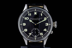 Military IWC Schaffhausen marriage men's watch - 1900