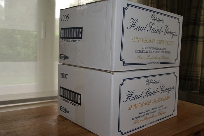 6x 2004 Chateau Haut-Saint-Georges & 6 x 2007 Chateau Haut-Saint-Georges – 12 bottles in total
