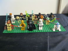Star Wars - 19 Lego mini figures