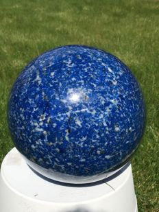 Huge, Top Quality hand-polished Lapis Lazuli sphere - 170 mm - 6.7 kg