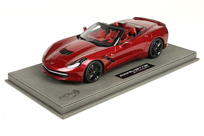 BBR - 1/18 scale - Corvette Stingray Convertible 2014