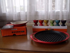 Le Creuset - batch of culinary utensils
