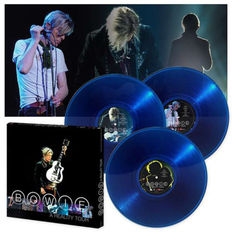 David Bowie ‎–  A Reality Tour 3 x LP Blue Translucent Vinyl Box Set US 2016 (Sealed)