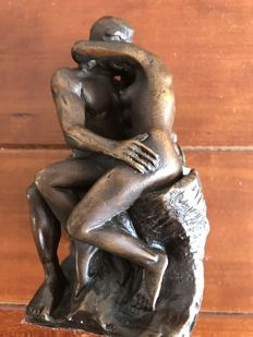 The kiss of Rodin - replica after Rodin