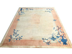 Handmade Chinese imperial rug:  Ming Beijing 300 x 250 cm