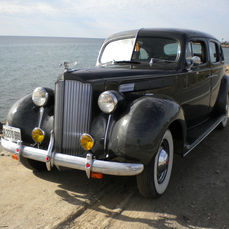 Packard - Six Touring Sedan - 1938