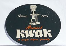 Pauwel Kwak - advertising sign with nice shine - ca 1970