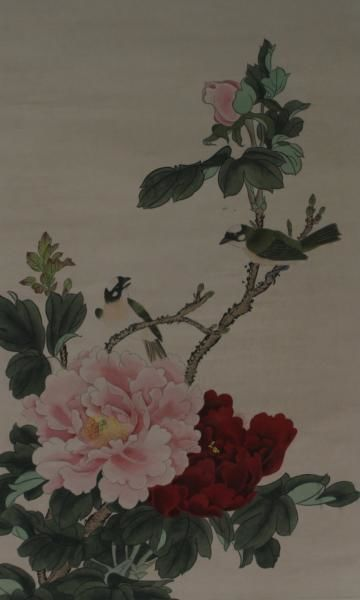 Beautiful painting by Zhang Da Qian – China – Late 20th century