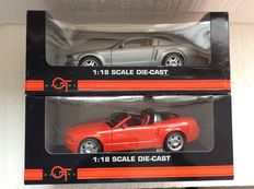 The Beanstalk Group - Scale 1/18 - Ford Mustang GT Coupe Concept and Ford Mustang GT Convertible Concept