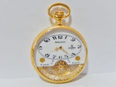 "Excellent Rare Original 8 Days HEBDOMAS "" Wille Freres "" Pocket Watch"