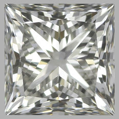 0.45ct IGI Princess Cut F VVS2 -Original Image-10X - Serial# 1758