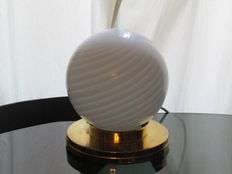 Unknown designer – Vintage, sphere-shaped table lamp