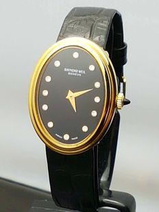 Raymond Weil Diamond  - Women´s wristwatch = Swiss made - 1970s