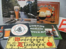 Beer advertising signs - 1980s/90s