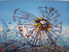 "Jeff Gillette - ""Split Mickey Ferris Wheel"""