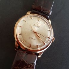 Omega Genève for men's 18 K - 1965