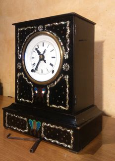 French Morbiere table clock - Mid-19th century