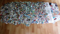 Worldwide collection - approx. 20,000 postal stamps - large variety