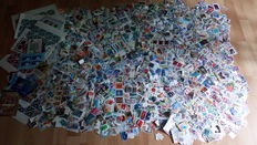 Worldwide collection - approx. 20,000 stamps - wide variety