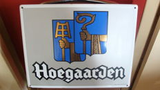 Enamel sign - Hoegaarden - 1990