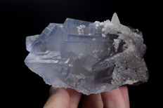 Gorgeous Phantom Fluorite Specimen - 104 x 79 x 52 mm - 555 gm