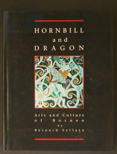 B. Sellato - Hornbill and Dragon : Arts and Culture of Borneo - 1992  & 2 other books on Indonesian tribal arts.