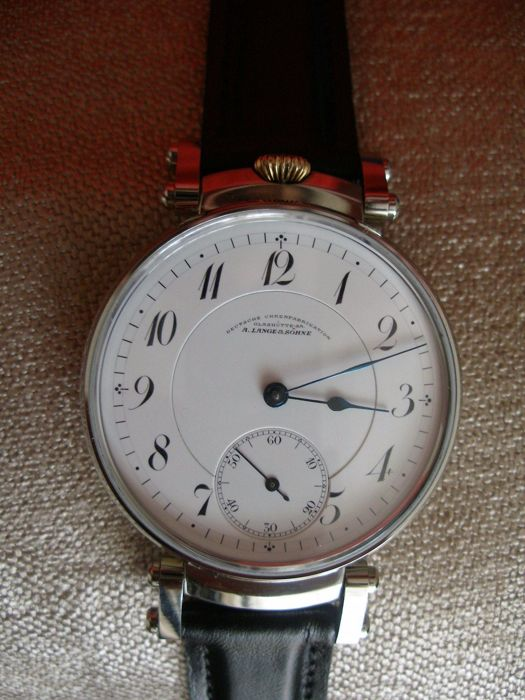 A. Lange & Söhne - GlashütteMarriage Watch - 1913, used for sale