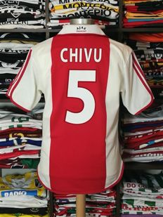 AFC Ajax / Chivu - Rare Centenary '1900-2000' home shirt, 100 year Ajax.