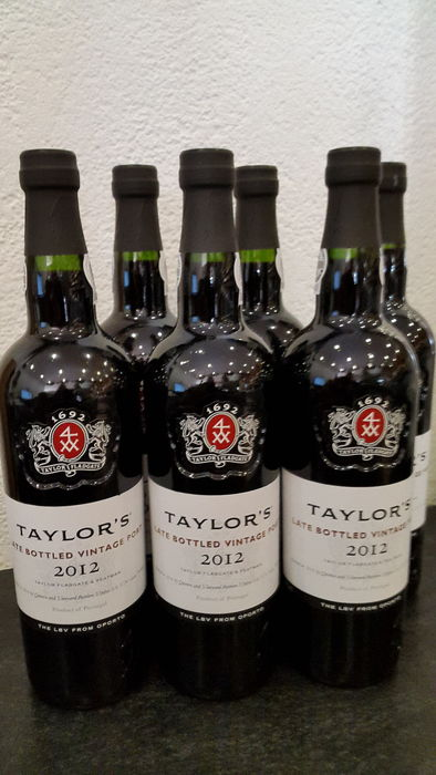 2012 Late Bottled Vintage Port Taylor's – 6 bottles (75cl)