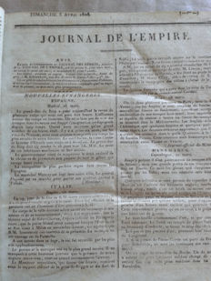 Journal de l'Empire - 1808