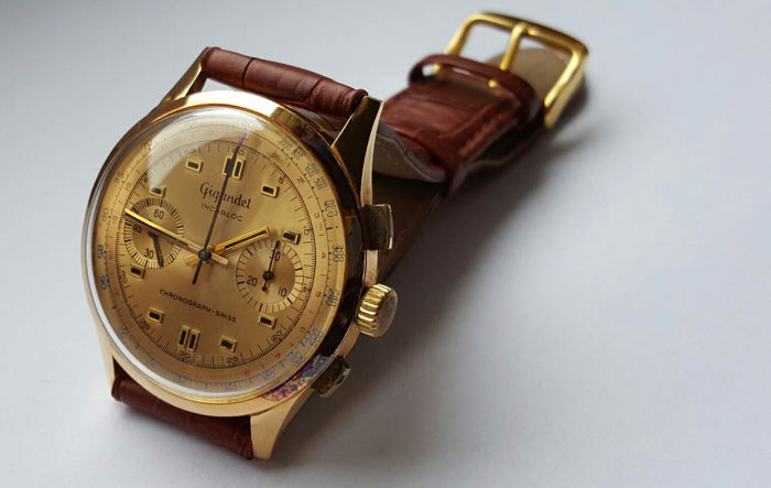 Gigandet Chronograph Swiss – Wristwatch – 1960s
