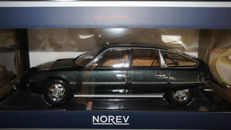Norev- Scale 1/18 - Citroën CX 2200 Pallas - Green