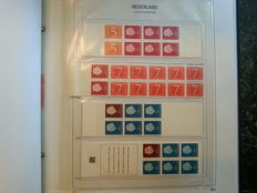 The Netherlands 1964/2001 – Collection of stamp booklets between PB1 and PB64 in a Davo album