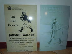 2 Johnny walker advertising signs 1909/1950