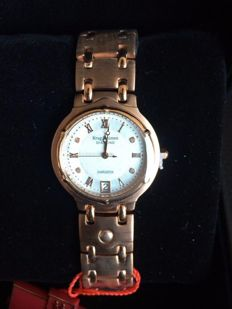 Krug Baumen Charleston diamond -women's wristwatch, 4 real diamonds, never worn