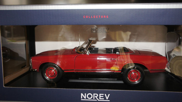 Norev - Scale 1/18 - Mercedes-Benz 280 SL Cabrio - with hardtop