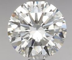 0.94 Carat Round Brilliant Diamond, D IF Cert: IGI #458