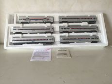 Märklin H0 43600 - Six piece set - Amtrak USA carriages - Streamliner